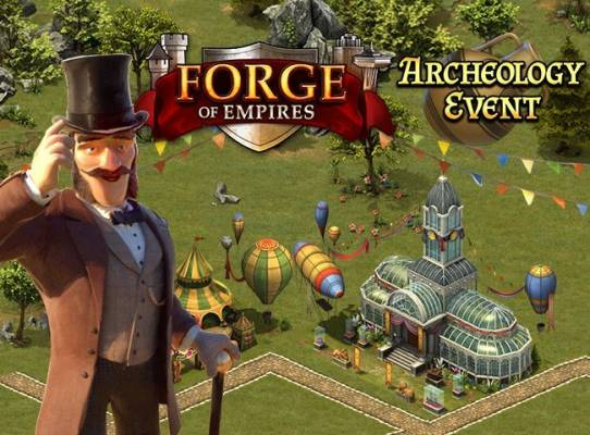 Forge of Empires Archeology Event