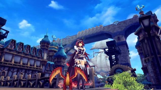 Aura Kingdom Update 52 Red Dragon Screenshot