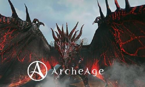 Beware the Mighty Black Dragon Descending onto the People of ArcheAge