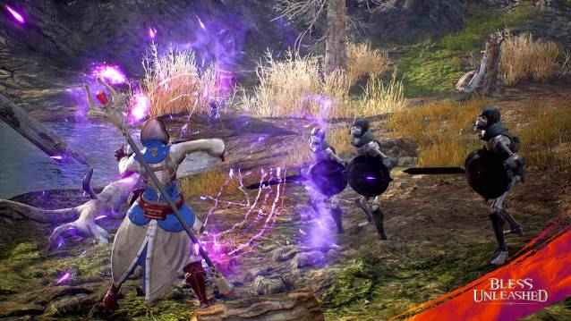 Trailer for Upcoming Xbox One Action MMORPG Bless Unleashed - Bless Unleashed Mage Screenshot