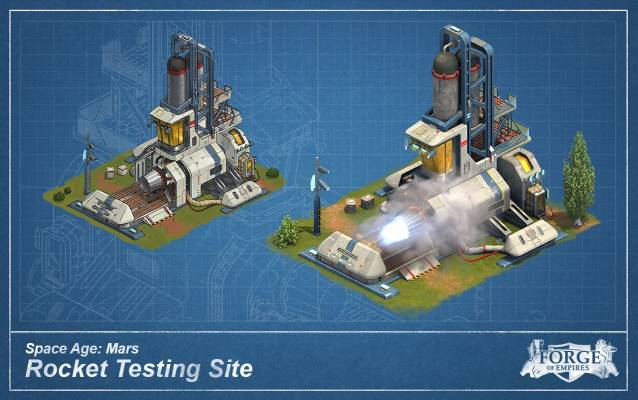 Forge of Empires Mars Roc ket Testing Site