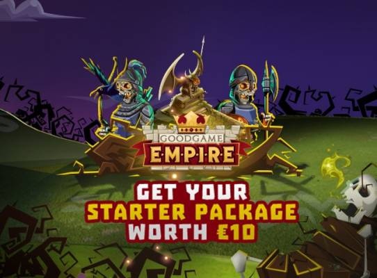 Goodgame Empire Free Items for all the new users from F2P.com