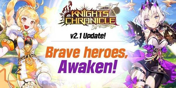 New update for Knights Chronicle