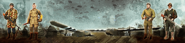Paratroopers Darken The Skies on Call of War