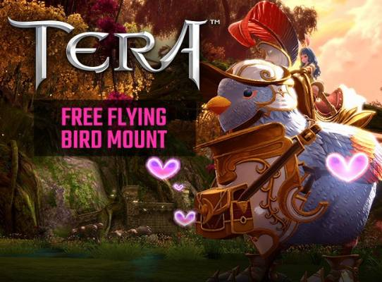 Tera 7th Anniversary Key Giveaway - Tera Free to Play MMORPG