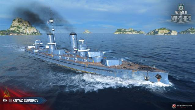 World of Warships Update 0.8.4 Adds Soviet Battleships