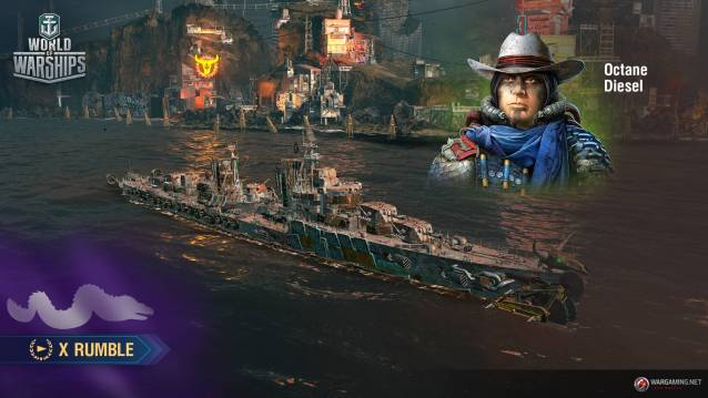 World of Warships Goes Post-Apocalyptic With Its First Battle Royale Mode - World of WarShips Screenshots Post Apocalypses event X Rumblre