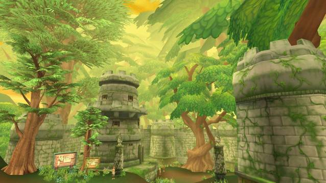 Grand Fantasia Gaia Woodlands