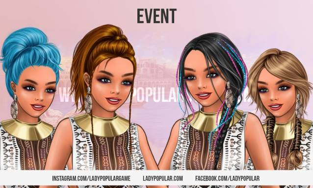 Lady Popular Beach Collection Event