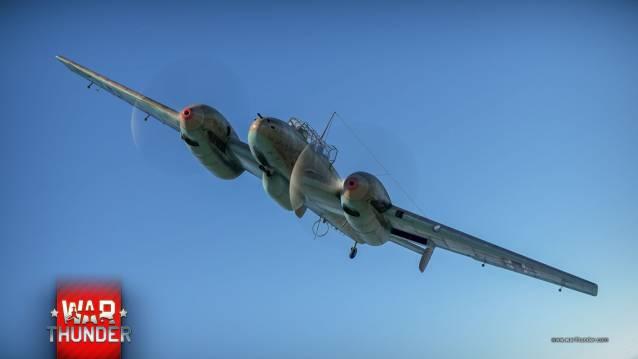 War Thunder Bf 110 C-6