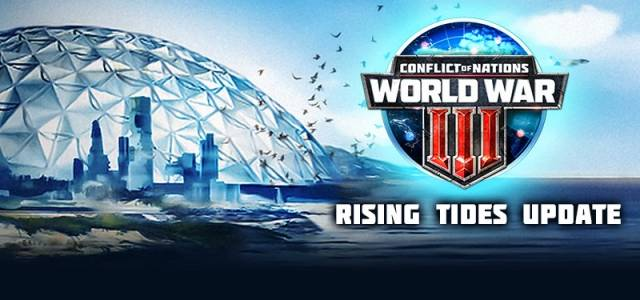 Conflcit of Nations Wolrd War 3 Rising Tides Update