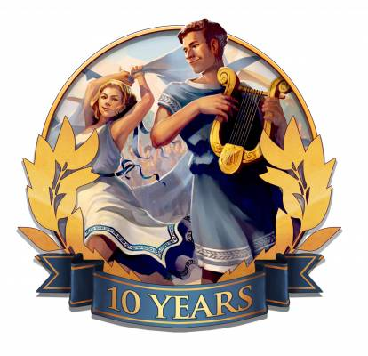 Grepolis celebrates its tenth anniversary