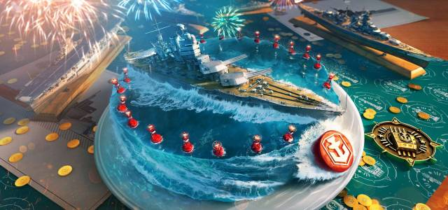 World of Warships celebrates fourth anniversary