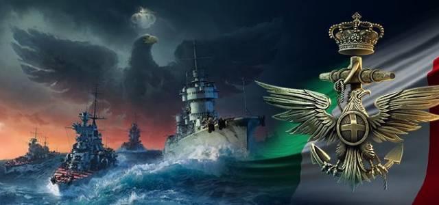 New Italian cruisers drop anchor in World of Warships