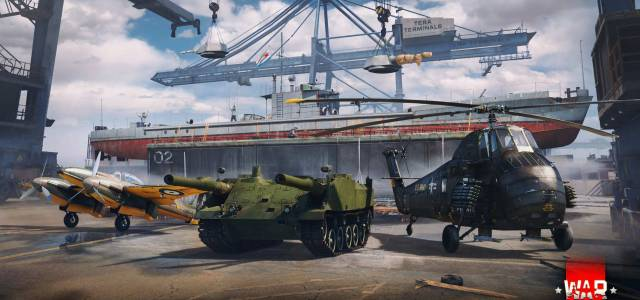 Operation Shipyard in War Thunder Brings an Exotic Twin-Gunned Tank and More