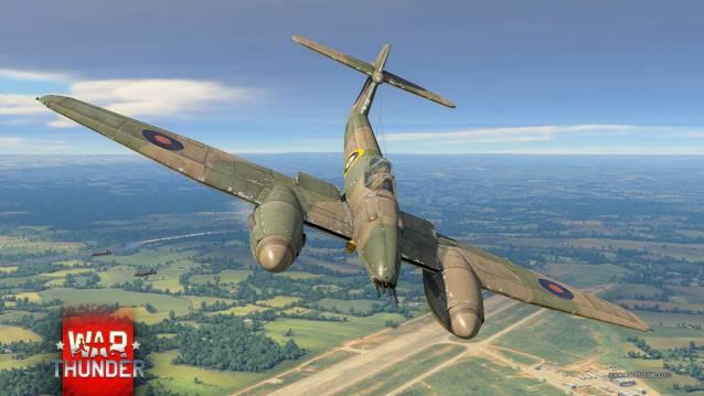 War Thunder Shipyard Whirlwind P9