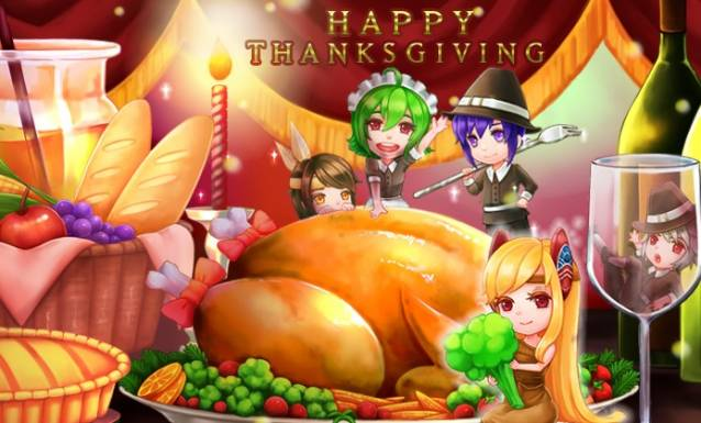 Grand Fantasia Lovely Dungeons for Thanksgiving