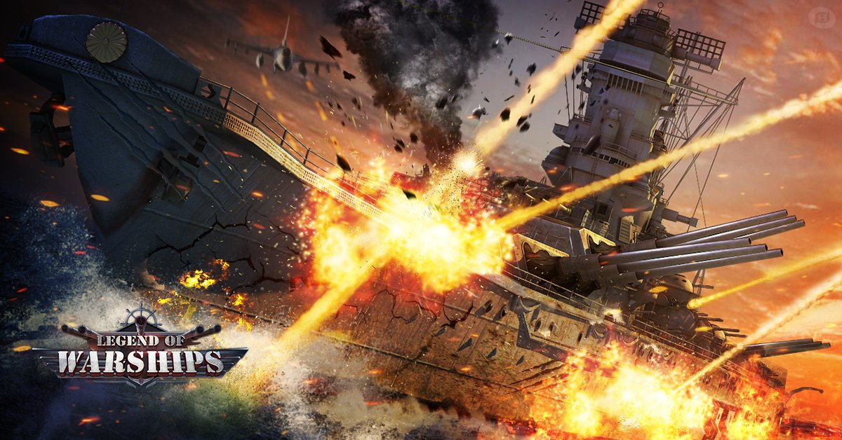 Legend of Warships Free-to-play Browser Action Game