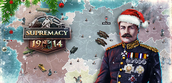 Supremacy 1914 Chrsitmas Event: Ice and Steel!