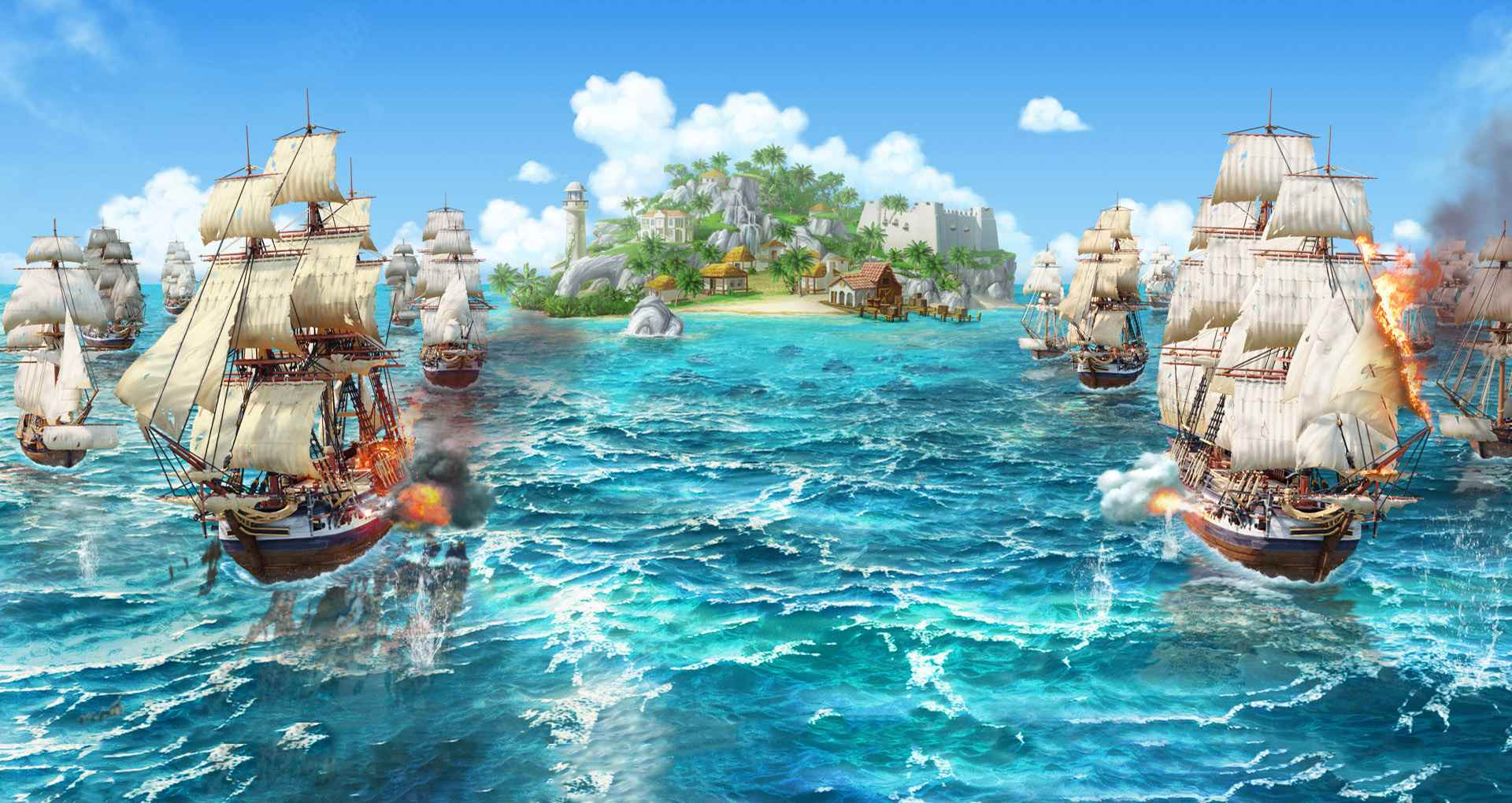 Gameforge Launches Swashbuckling Strategy MMO Ultimate Pirates