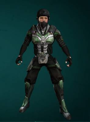 Urban Commando Headgear and Urban Commando Outfit