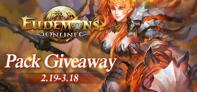 Eudemons Online Lucky Media Giveaway