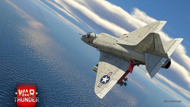 War Thunder Viking Fury A-4B-Skyhawk