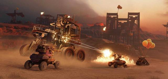 Crossout Encourages Players to Stay at Home