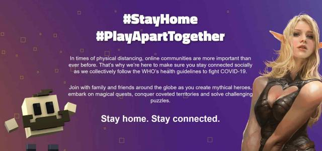 Gamigo #PlayApartTogether
