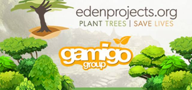 Gamigo with Eden Reforestation Projects