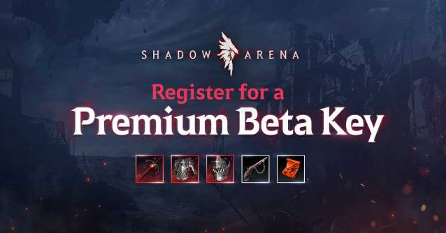 Shadow Arena premium items for the Final Closed Beta on Steam