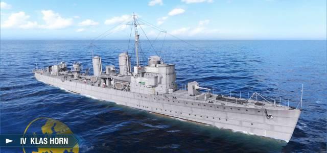 World of WarShips screenshots IV Klas Horn - World of WarShips Update 0.9.3