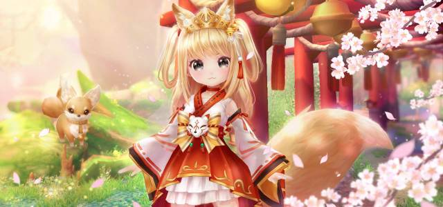 Twin Saga celebrates the Sakura Blossom Festival with a new Feature