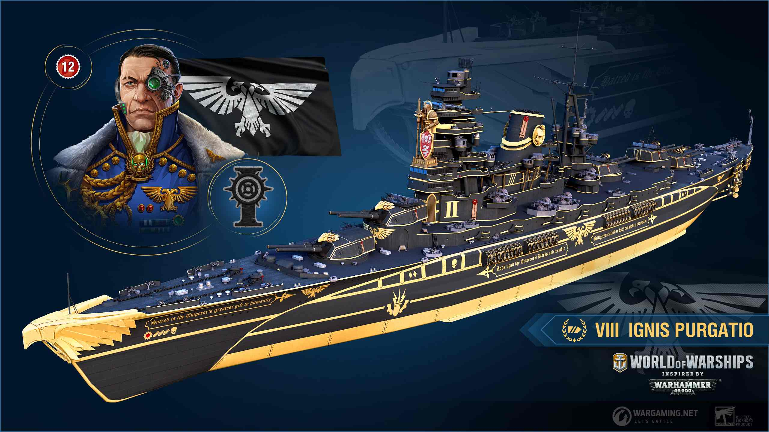 Warhammer 40000 Invades World Of Warships Here On F2p Com