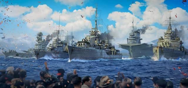 World of Warships virtual navy parade