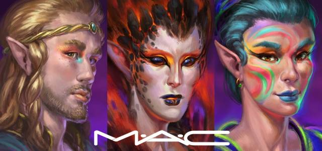 Elvenar Halloween with M-A-C Cosmetics