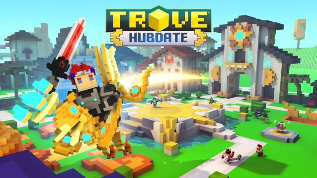 Trove Hubdate now for consoles here on F2P.com