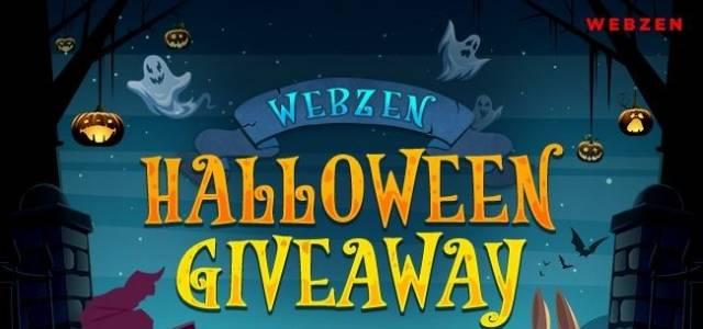 Webzen Halloween Event Giveaway on F2P.com