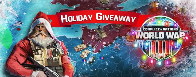 Conflict of Nations World War 3 Giveaway