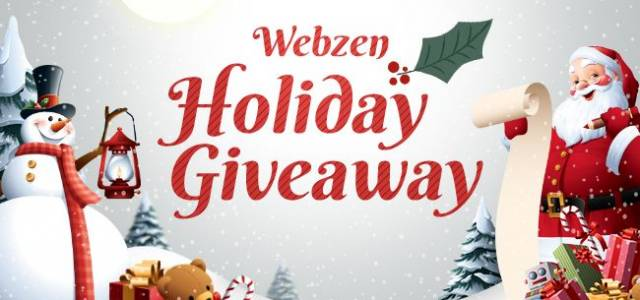 WebZen Chrsitmas Giveaway