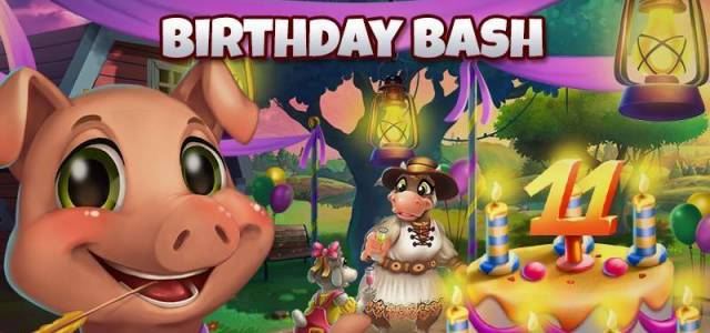 Farmerama Birthday Bash here on F2P