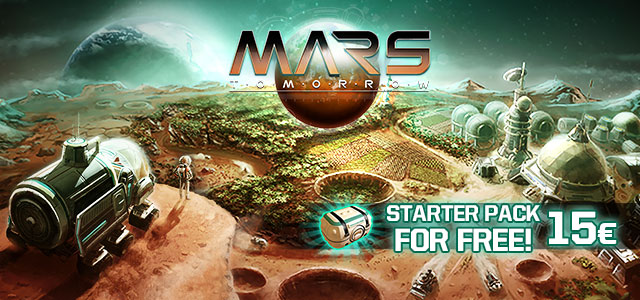 Mars Tomorrow 15€ Free Items