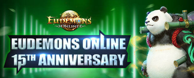 Eudemons Online 15th Anniversary Giveaway