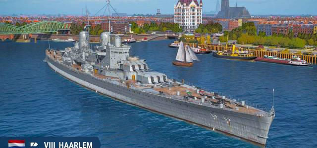 Dutch Cruisers available in World of Warships