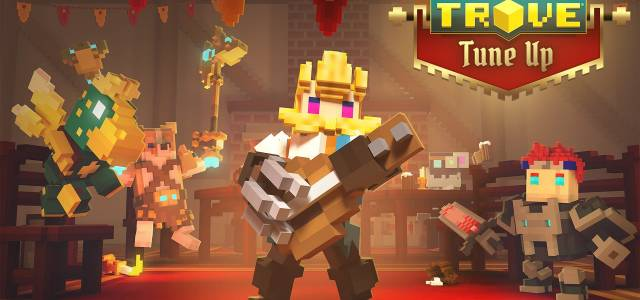 Trove Can Rock Out as the Bard on Nintendo Switch