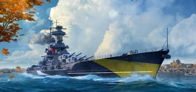 World of WarShips Halloween season